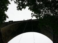 Abseilen am Hetzdorfer Viadukt