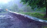 Vorbeiterung Hochwasser-Schutz